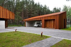 Garajes madera instalaci n de tarima flotante y parquet for Garajes chalets