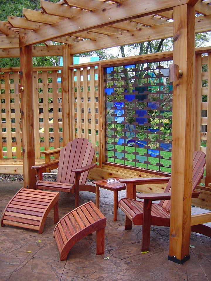 Vallas y celos as instalaci n de tarima flotante y parquet for Celosia de madera para jardin